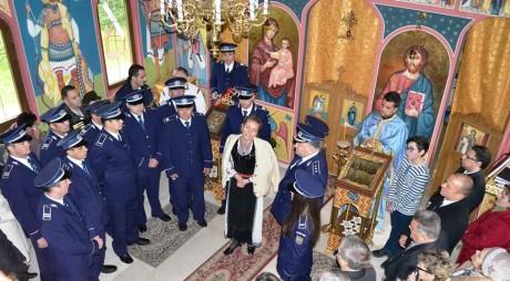 Primii COLINDĂTORI la Inspectoratul de Poliţie Hunedoara