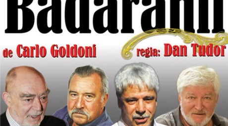 """Premiera comediei """"Bădăranii"""", reprogramată. Mircea Albulescu este în spital"""
