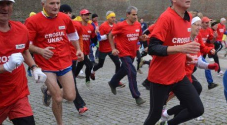 Hunedorenii, premiaţi la Crosul Unirii 2014