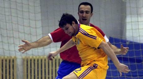 Naţionala de futsal a României va disputa două amicale cu Serbia, la DEVA