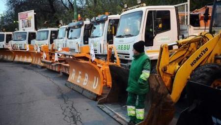 CNADNR dă asigurări că reţeaua de drumuri este asigurată de utilaje de deszăpezire