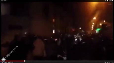 VIOLENȚE la Torino: Carabinierii au atacat românii cu gaze lacrimogene | VIDEO