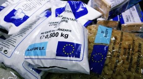 Se distribuie alimentele de la UE în Hunedoara