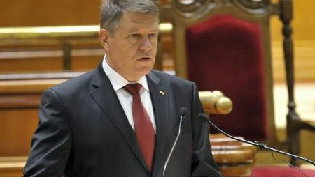 OFICIAL: KLAUS IOHANNIS A DEPUS JURĂMÂNTUL