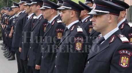 Activitatea ISU Hunedoara, verificată de șeful IGSU