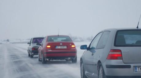 Drumuri naționale închise. Trafic deviat pe autostrada A1