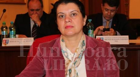 Vetuţa Stănescu, acuzată de INCOMPATIBILITATE