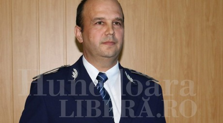 Un POLIŢIST hunedorean, la comanda IPJ GORJ