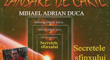 """La Deva se lansează volumul de proză """"Secretele sfinxului"""""""