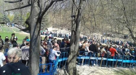 30.000 de pelerini au trecut pragul mănăstirii Prislop