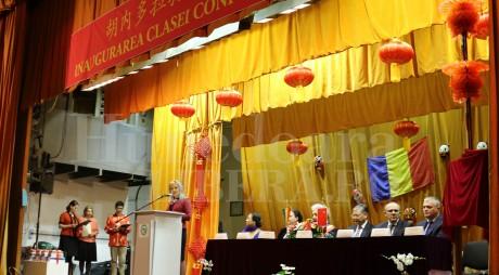 Arion l-a primit pe ambasadorul Chinei într-o atmosferă de restaurant chinezesc (Galerie foto)