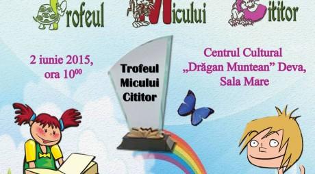 """Biblioteca Judeţeană organizează de Ziua Copilului """"Trofeul Micului Cititor"""""""