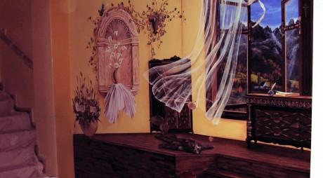 Iluzii optice ULUITOARE. Vezi primele picturi 3D, realizate de un român GALERIE FOTO
