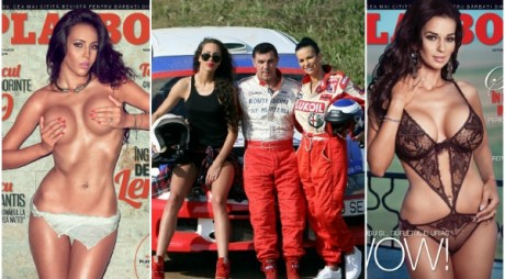 Iepurașii Playboy pot fi văzuți la Raliul Aradului!