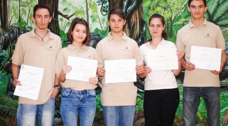 Activitatea voluntarilor din Geoparc a fost recunoscută OFICIAL prin certificate Voluntpass