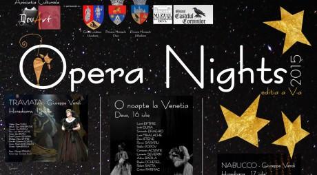 OPERA NIGHTS 2015. PROGRAMUL COMPLET