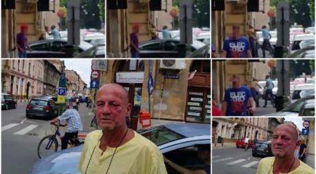 VIDEO. Bătut în plină zi, în mijlocul străzii