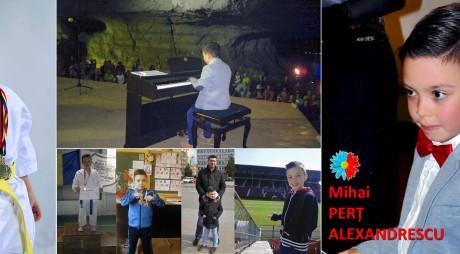 Premiantul de sâmbătă:  Mihai Perț Alexandrescu, campion mondial la 7 ani