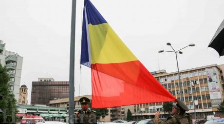 FOTO. Ziua Drapelului, sărbătorită în Deva