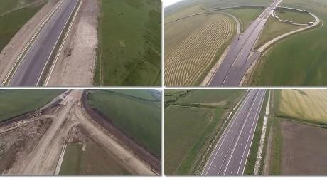 VIDEO. Lotul 2 al autostrăzii Lugoj – Timişoara. Cum arată acum