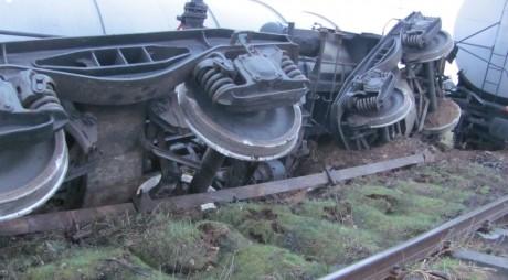 Tren DERAIAT pe ruta Timişoara – Bucureşti