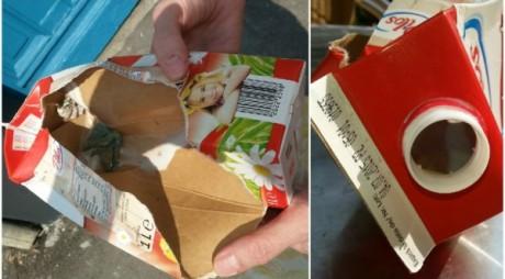 """Lapte """"condimentat"""" cu mucegai, la supermarket"""