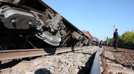 Circulaţie feroviară BLOCATĂ în judeţul Alba