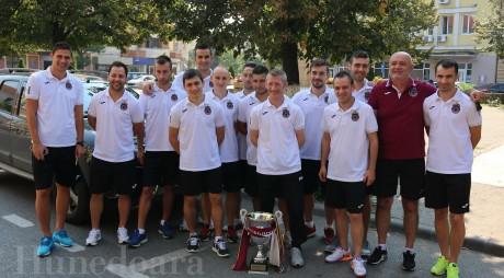 Campionii s-au întors acasă cu Supercupa României