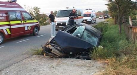 Accident DEVASTATOR produs de un polițist