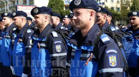 Peste 2.000 de jandarmi asigură măsurile de ordine publică de Bobotează