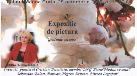 """""""Grădinile ascunse"""", expoziție de pictură la Deva"""