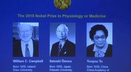 S-au desemnat câștigătorii PREMIULUI NOBEL pentru Medicină, 2015