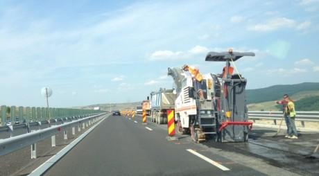 NEWS ALERT: Lucrări de reparaţii pe Autostradă