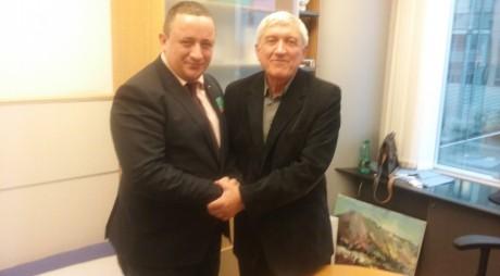 Președintele CJ Hunedoara, în vizită la Bruxelles