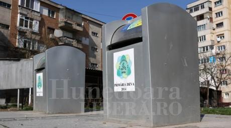 DEVA | Cerere mare pentru containere îngropate