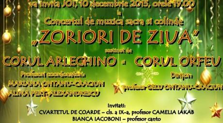 Concert tradițional de muzică sacră și colinde
