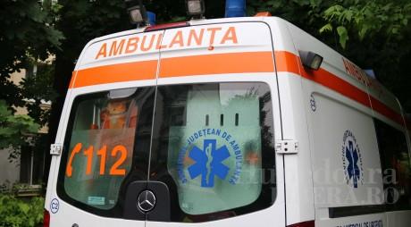 Accident pe DN 7 la limita dintre județele Alba și Hunedoara