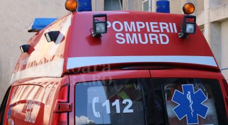 Accident grav pe DN7. Patru persoane au ajuns la spital