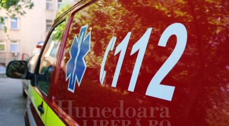 Accident rutier GRAV în Hunedoara
