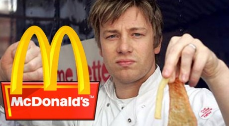 Jamie Oliver le-a dat o grea lovitură celor de la McDonald's