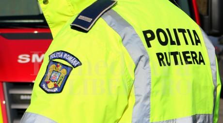 Poliția Rutieră s-a mobilizat în weekend