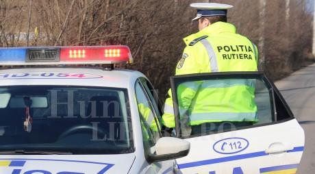 Weekend plin. Dosare penale pentru 3 șoferi hunedoreni