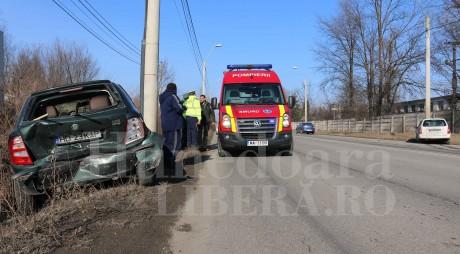 Băut și fără permis | Accident rutier grav cu 3 răniți