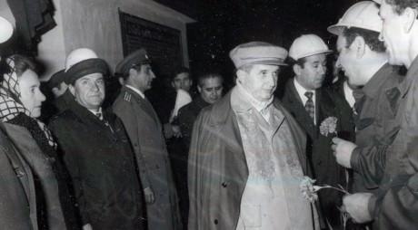 Ultima vizită prezidențială a lui Ceaușescu la Hunedoara