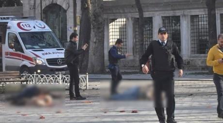 Imagini ȘOCANTE de la ATENTATUL DIN ISTANBUL