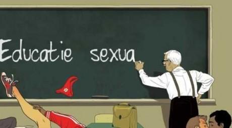 Uite ce învață elevii la orele despre sex!