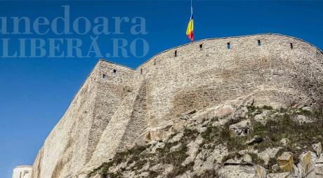 Cetatea Deva, refăcută cu bani europeni