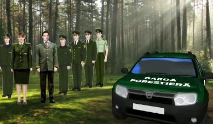 Gardienii Pădurilor: 5.000 lei pe lună salariu și mașină de teren
