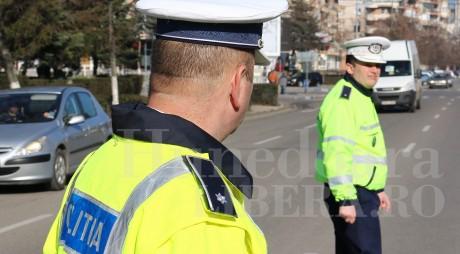 ATENȚIE, ȘOFERI! Zile de FOC pentru polițiștii de la Rutieră