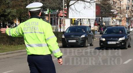 Poliția Rutieră în acțiune! Peste 500 de amenzi în câteva zile